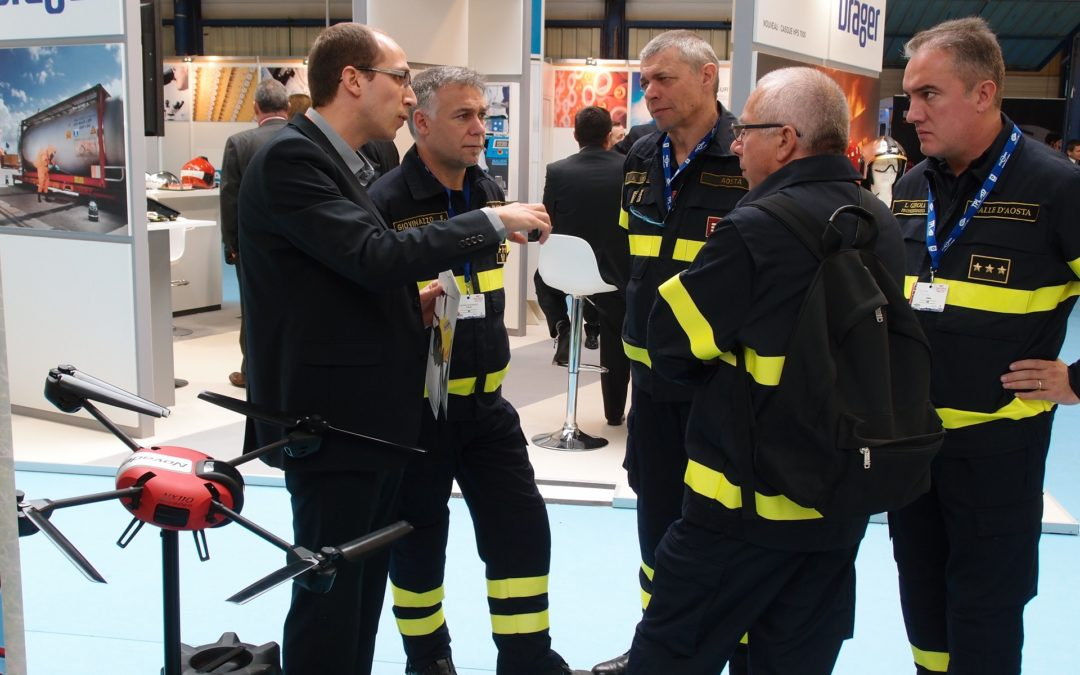 NOVADEM exhibits to the 120th Fire Fighters National Congress in Chambéry