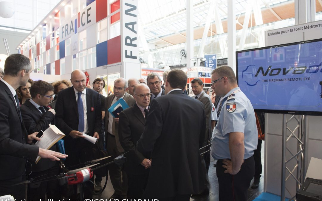 Visit of the french Interior Minister Bernard Cazeneuve