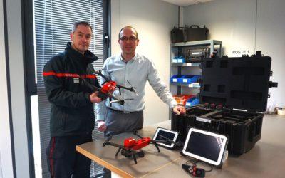 Le S.D.I.S.13 complète sa flotte de drone avec le NX70