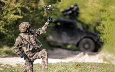 The French Ministry of the Armed Forces chooses the Novadem NX70 micro reconnaissance UAV to equip its soldiers in operations
