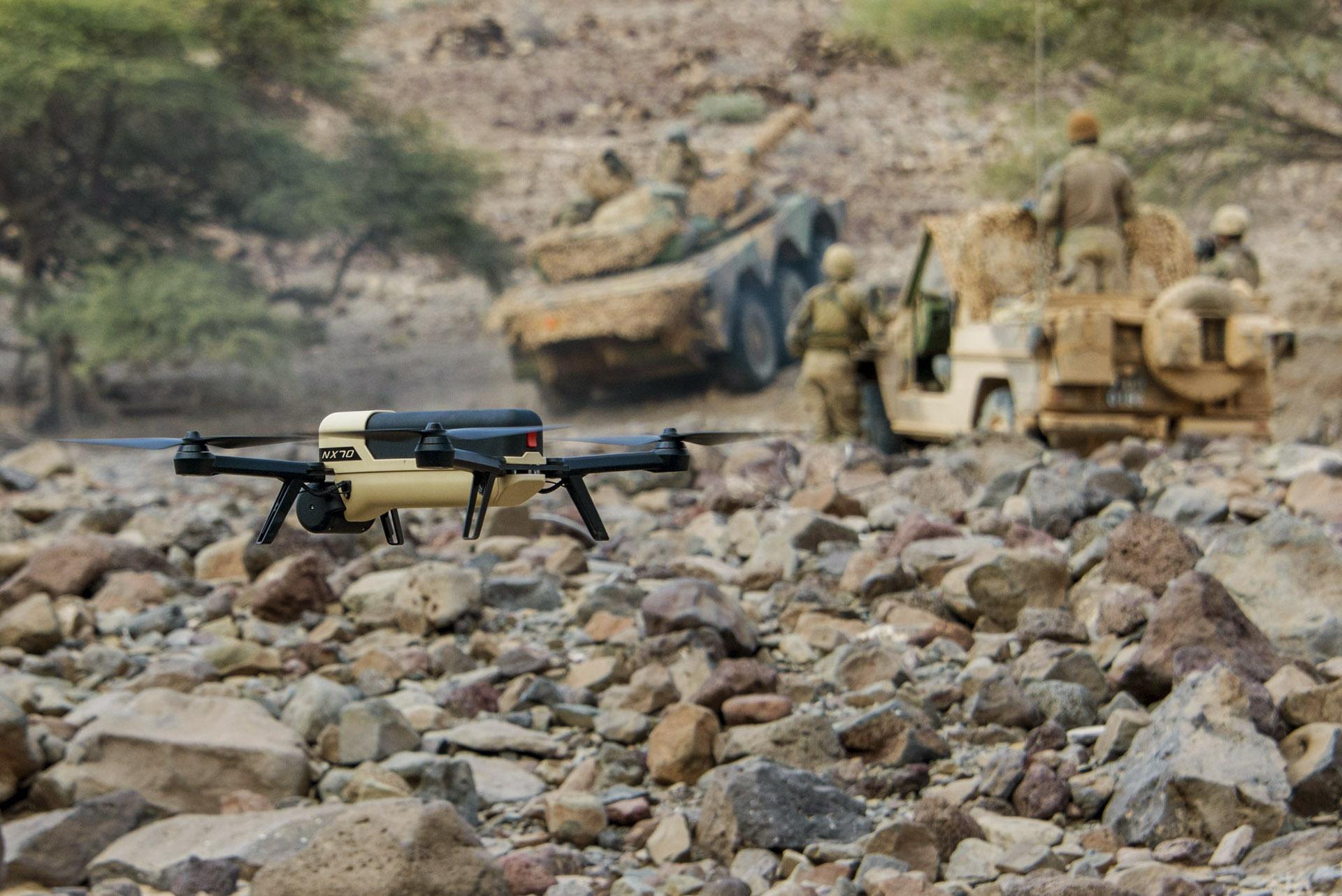 Drone NX70 Militaire Djibouti