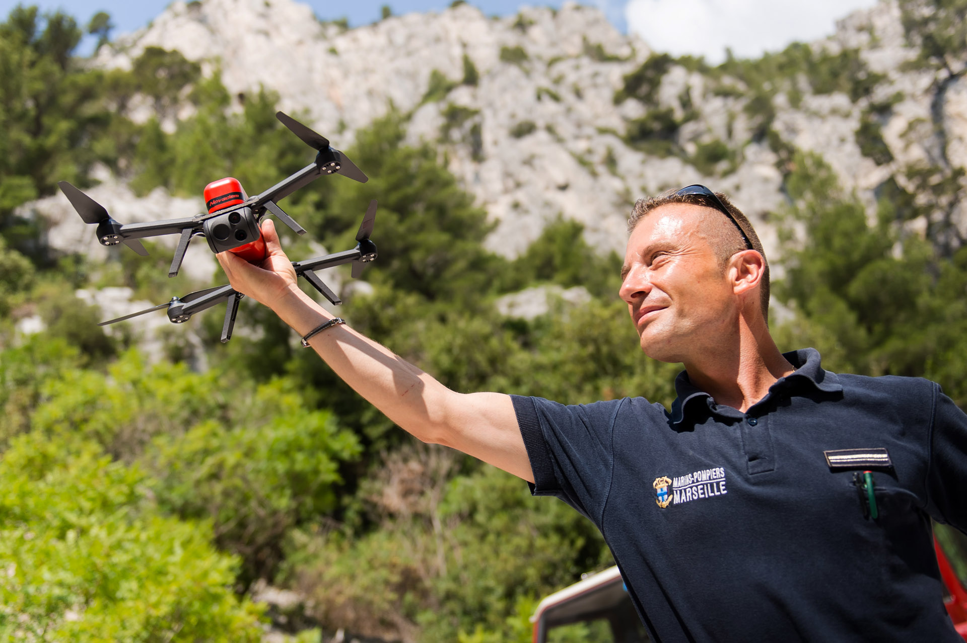 Drone NX70 Marins Pompiers Marseille