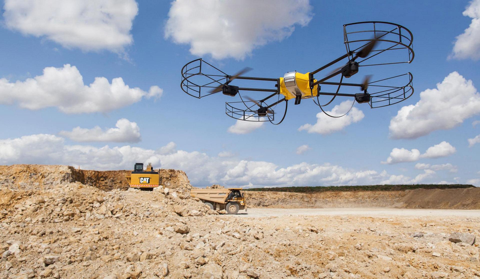 Drone U130 relevé carrière