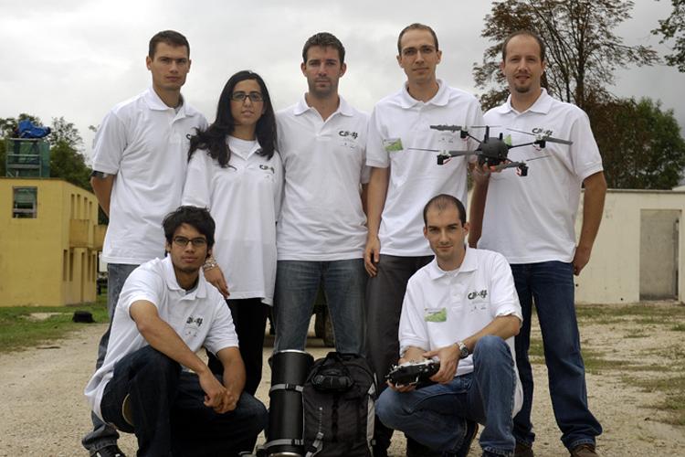 Equipe CPX4 au concours DGA ONERA 2015
