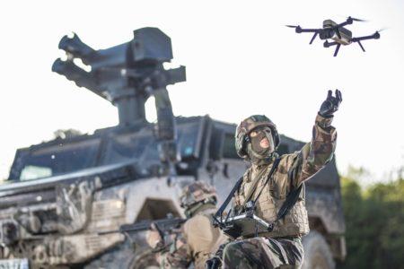 Missile MMP et drone NX70 Novadem