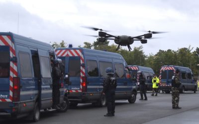 Novadem wins the market to equip the french National Gendarmerie with micro-UAVs