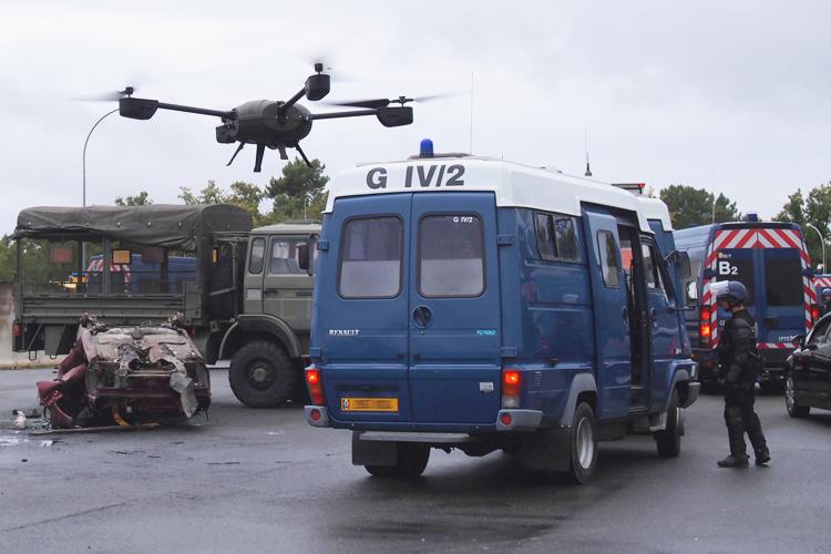 Le drone NX110 de la Gendarmerie