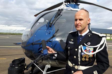 Drone NX70 de la Gendarmerie