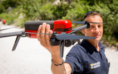 The Marseille's Navy Firefighters Battalion acquires a fleet of Novadem NX70 micro-UAVs