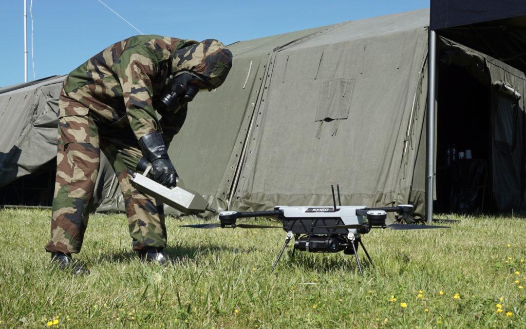 Partenariat entre Proengin & Novadem pour le développement d'une solution drone de détection de menace chimique