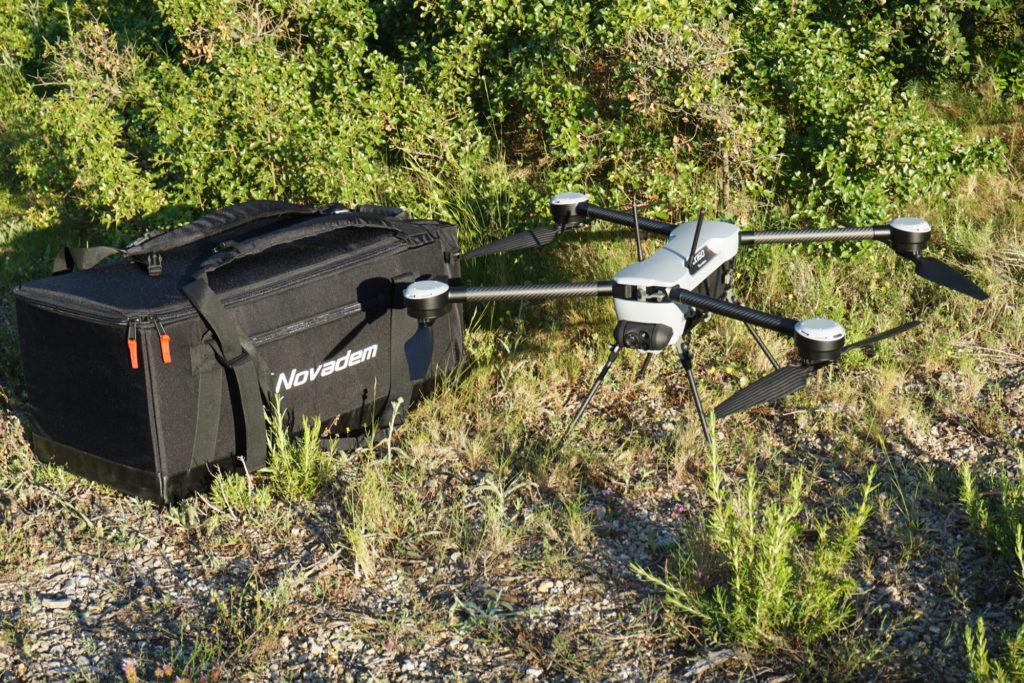 Mini-drone NX160 et son sac à dos