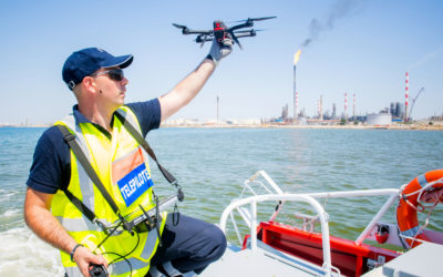 Les drones Novadem, outils du quotidien des Marins-Pompiers